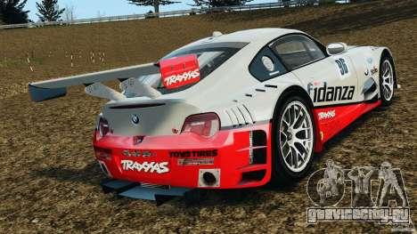 BMW Z4 M Coupe Motorsport для GTA 4 вид сзади слева