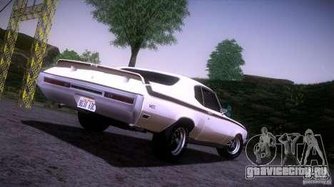 Buick GSX 1970 для GTA San Andreas вид справа