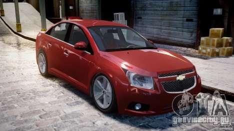Chevrolet Cruze для GTA 4 вид слева