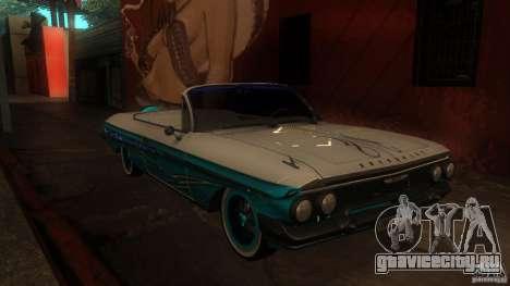 Chevy Impala SS 1961 для GTA San Andreas