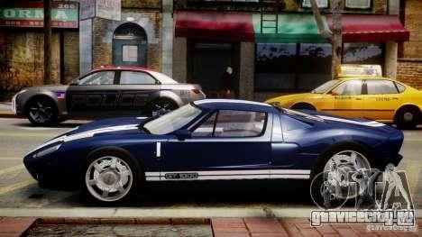 Ford Hennessey GT1000 2006 v2.0 EPM для GTA 4 вид слева