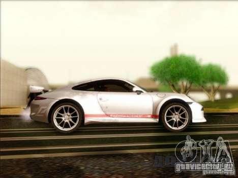 Porsche 911 Carrera S (991) Snowflake 2.0 для GTA San Andreas вид сзади