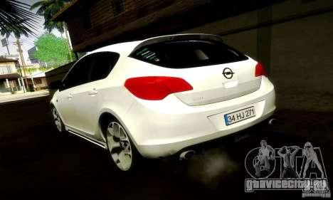 Opel Astra Senner для GTA San Andreas вид справа