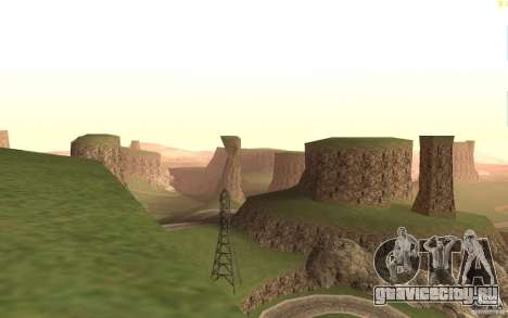 New desert для GTA San Andreas третий скриншот