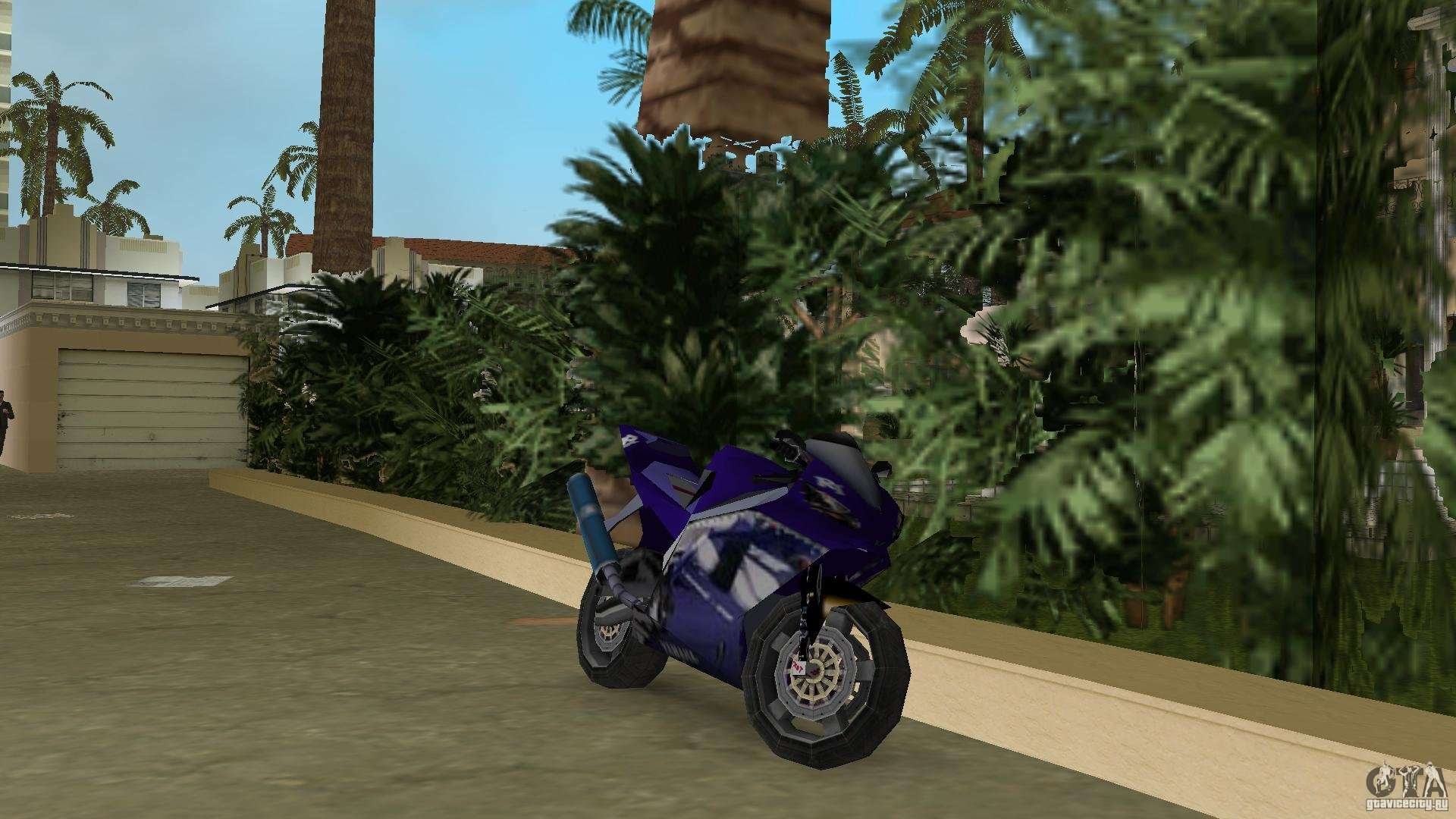 Yamaha R In Gta Vice City