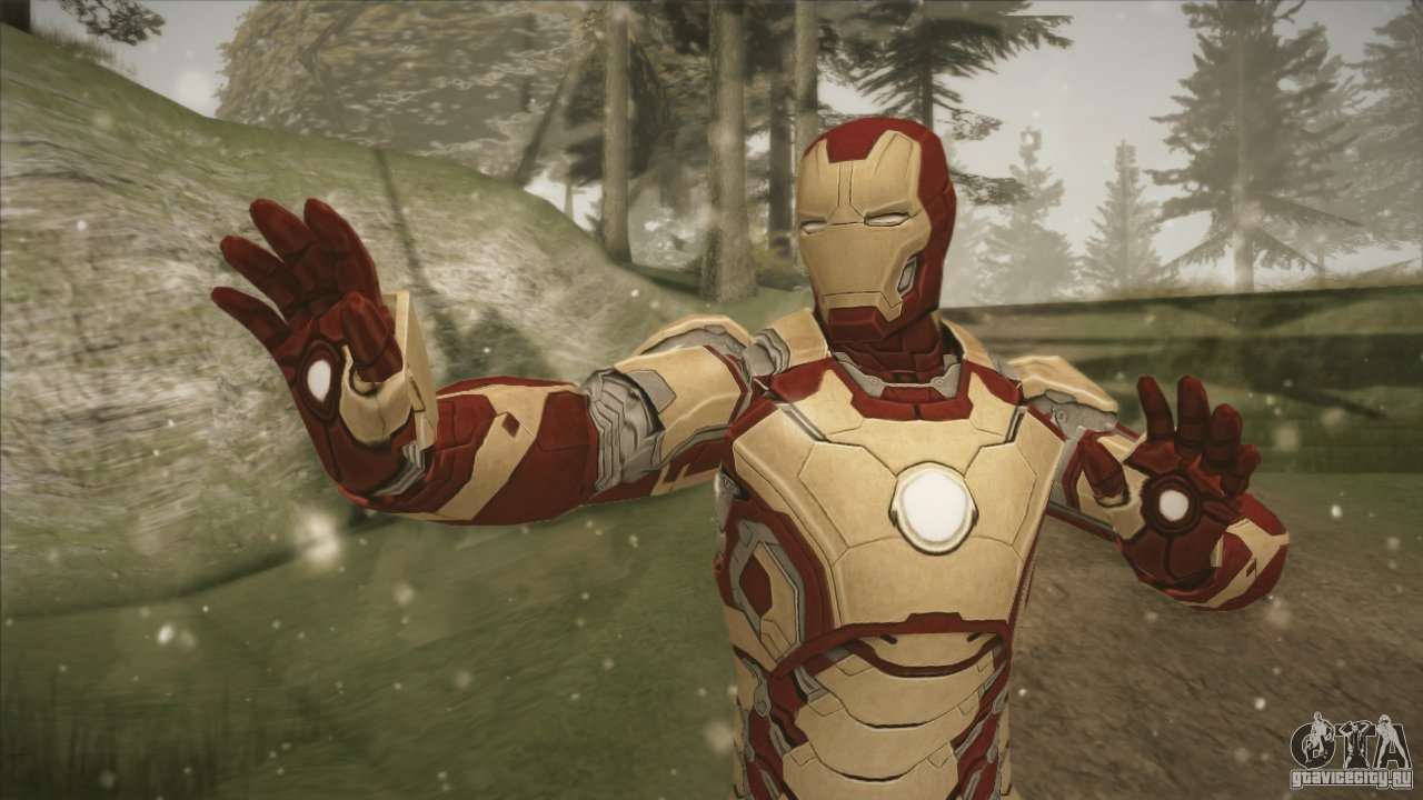 Iron Man Mark 42 для GTA San Andreas