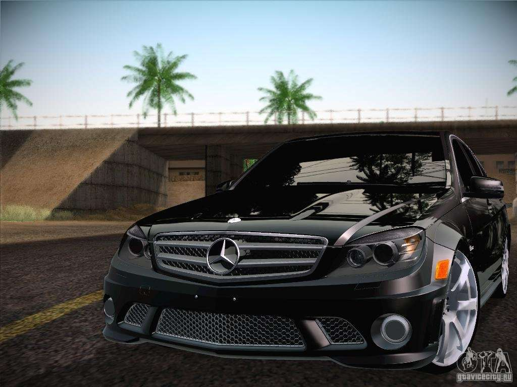 MercedesBenz  Машины  Файлы для GTA San Andreas  GTA