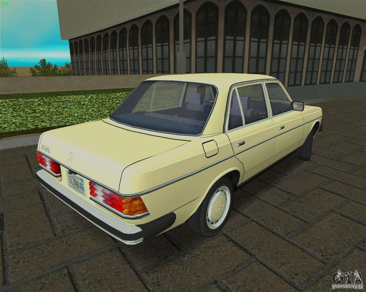 Mercedes benz 230 1976 gta vice city for Mercedes benz atlantic city
