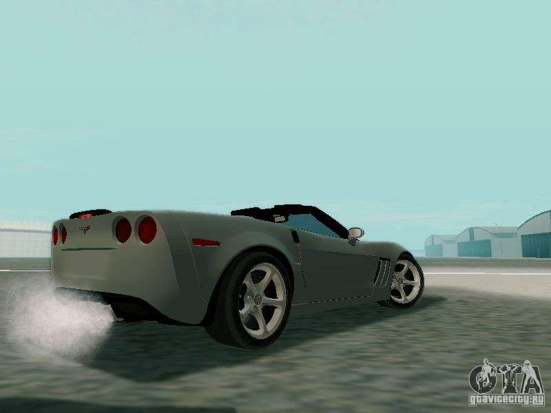 Chevrolet Corvette C6 Gs Convertible 2012 Gta San Andreas