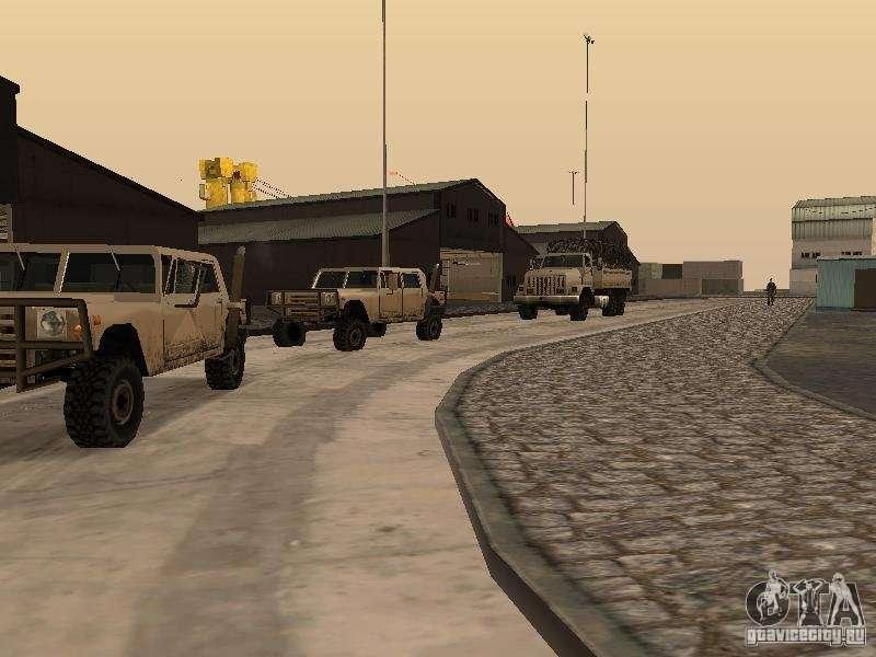 скачать мод на гта сан андреас на военную базу - фото 2