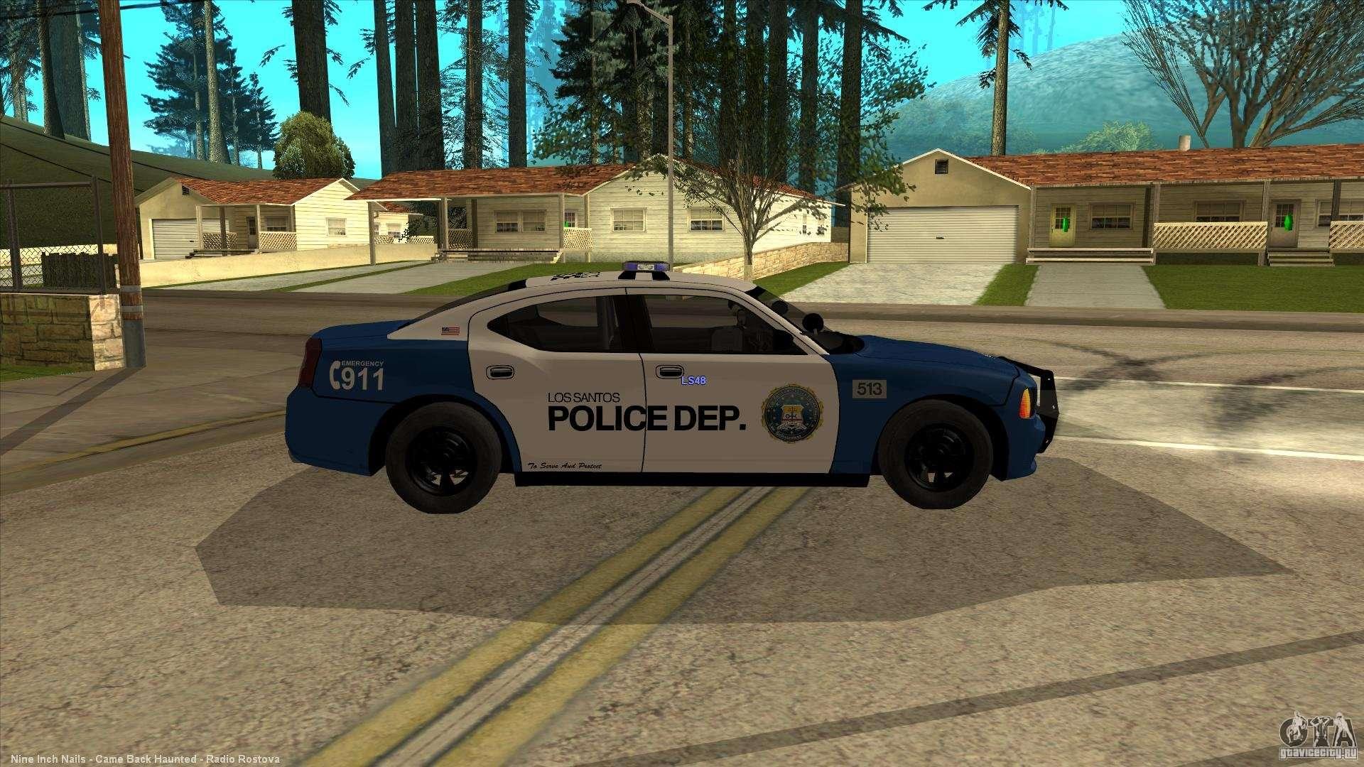 Dodge Charger Los Santos Police для Gta San Andreas