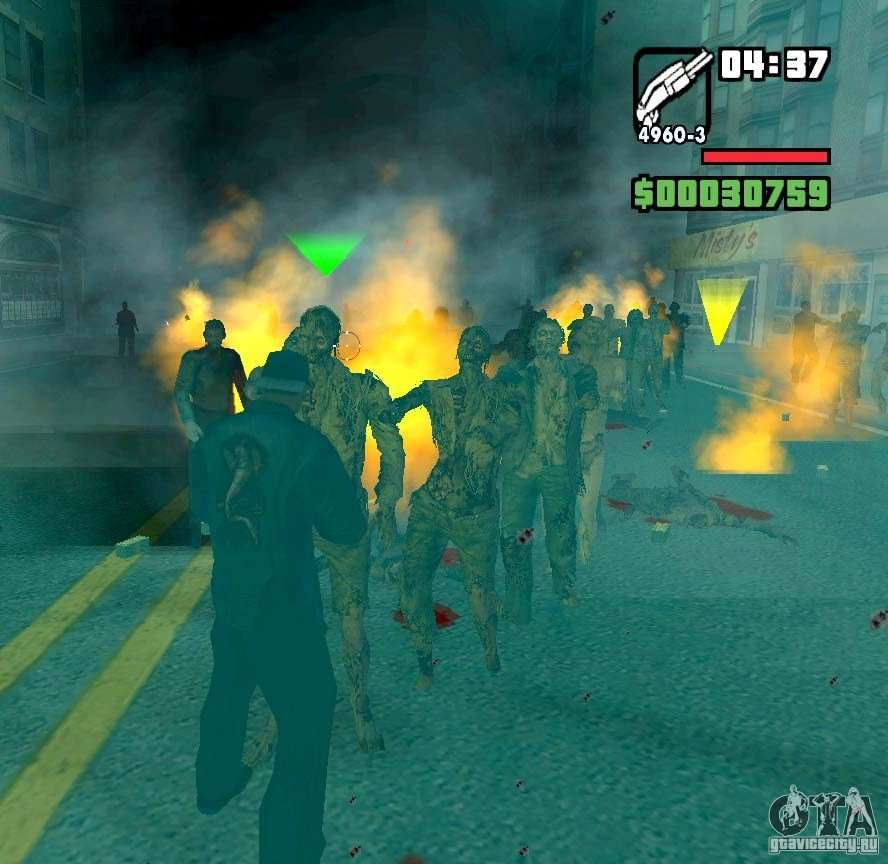 скачать мод на зомби апокалипсис для гта са с автоматической установкой - фото 3