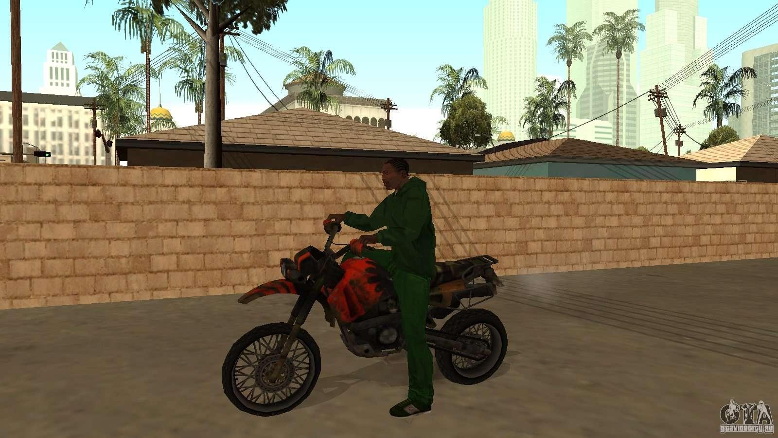 коды на гта санандрес на мотоциклы код