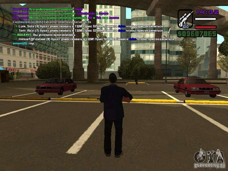 SA-MP 0.3x Client для GTA San Andreas. Патчи и программы.