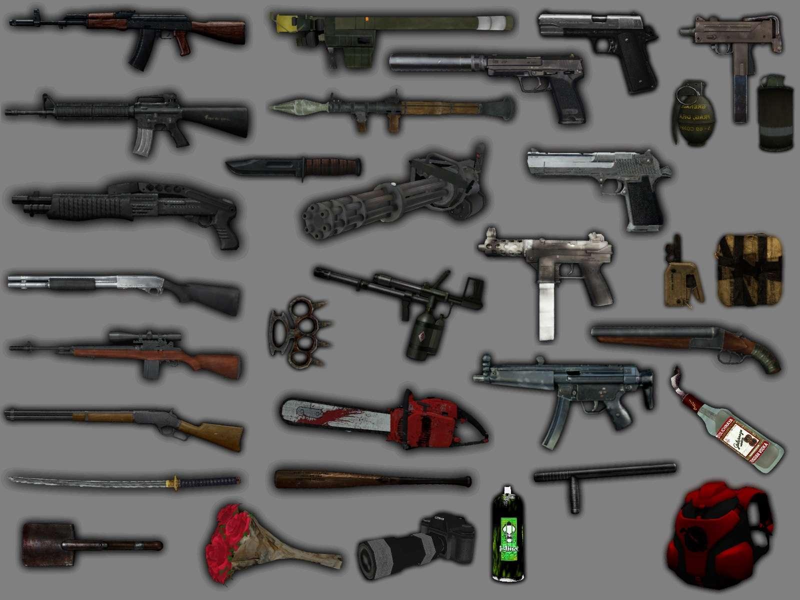 скачать моды на оружие для самп