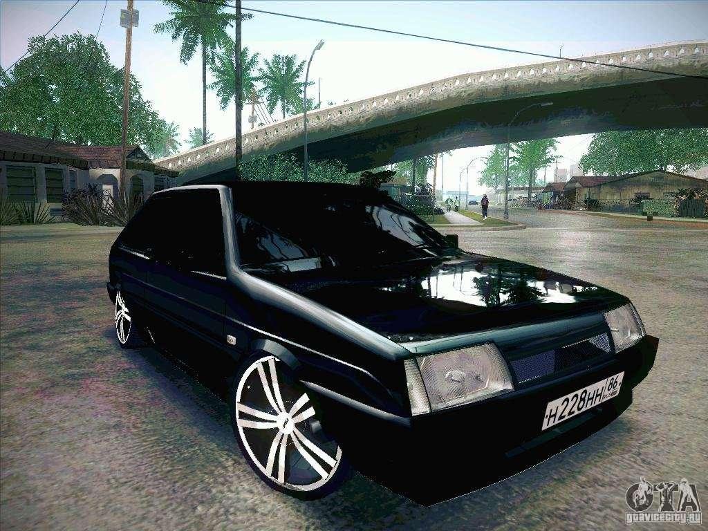 Машины в GTA San Andreas
