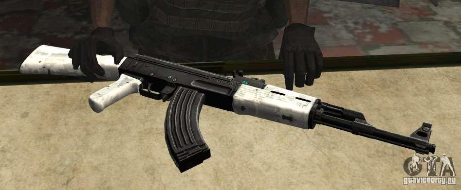 скачать мод на гта сан андреас на оружие ак 47 - фото 8