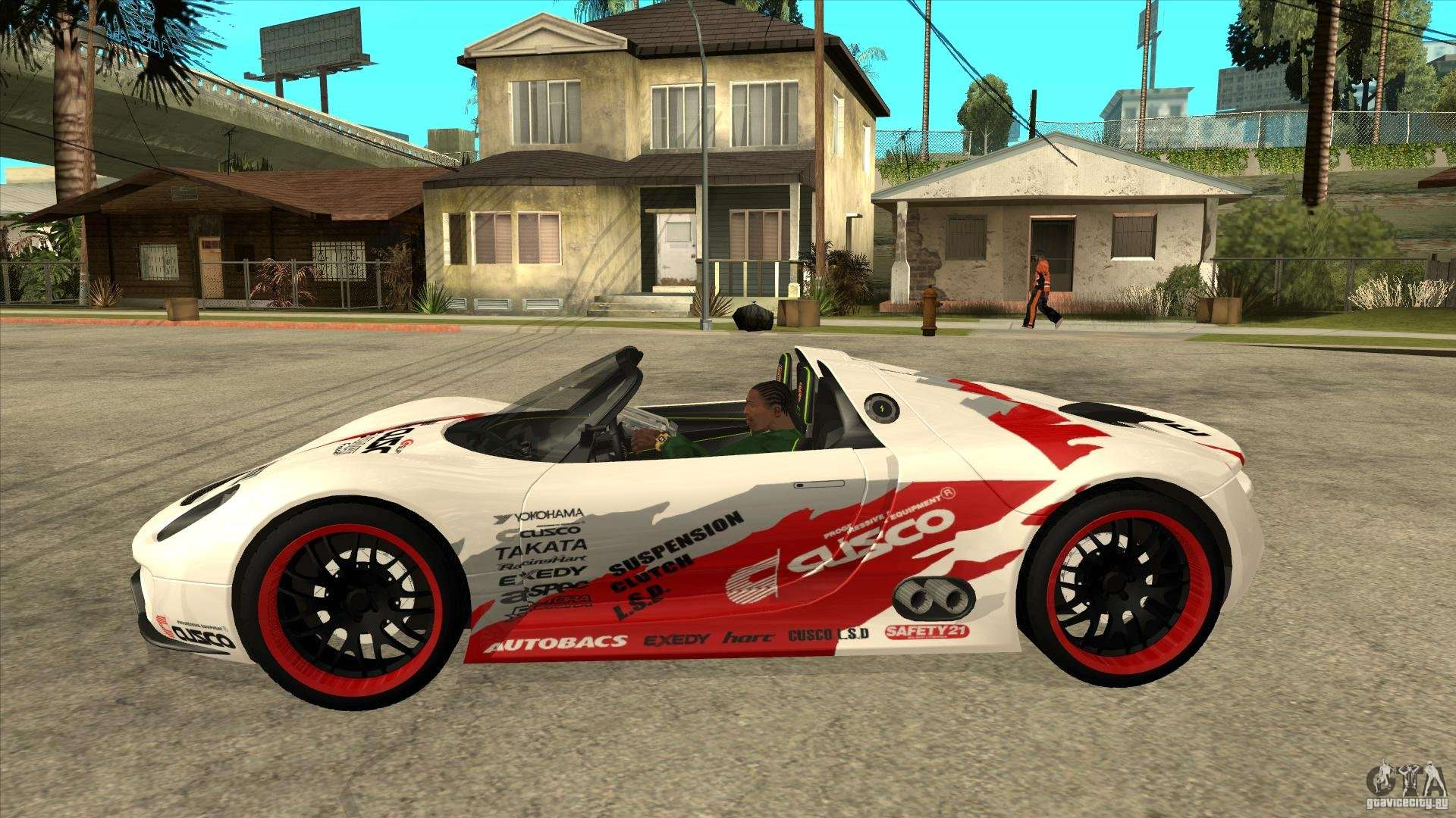 porsche 918 spyder consept gta san andreas. Black Bedroom Furniture Sets. Home Design Ideas
