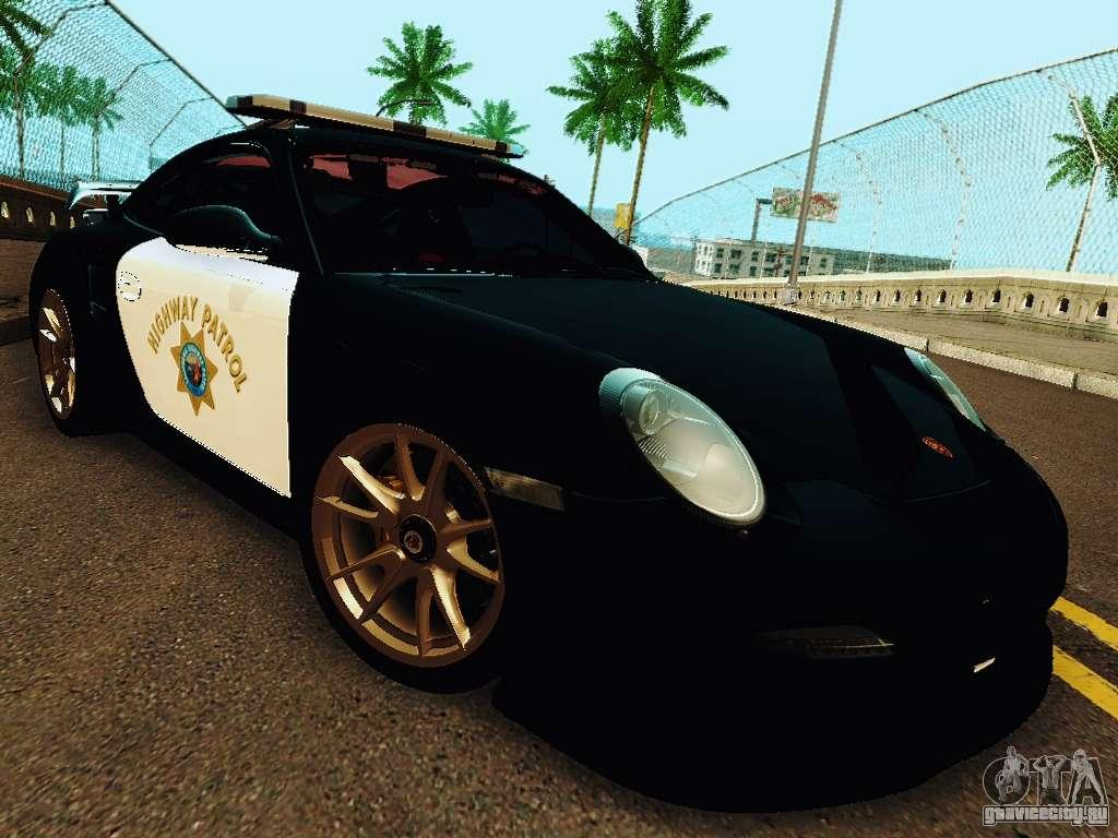 porsche 911 gt2 rs 997 police gta san andreas. Black Bedroom Furniture Sets. Home Design Ideas