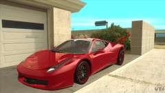 Ferrari 458 Italia Hamann для GTA San Andreas