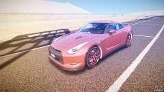 Nissan GT-R R35 2010 для GTA 4