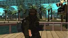 Спецназ Беркрут для GTA San Andreas