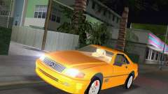 Mercedes-Benz SL600 1999 для GTA Vice City