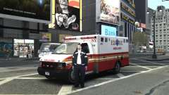 Chevrolet Ambulance FDNY v1.3 для GTA 4
