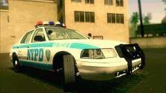Ford Crown Victoria 2003 NYPD police V2.0 для GTA San Andreas