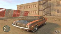 Dodge Challenger R T Hemi 1970 для GTA 4