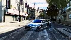 Audi R8 Spider 2011 для GTA 4
