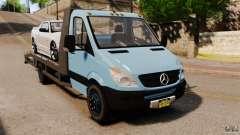 Mercedes-Benz Sprinter 3500 Car Transporter для GTA 4