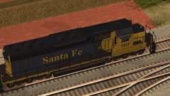 SD 40 UP BN Santa Fe