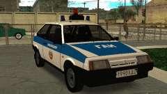 ВАЗ 2108 Милиция для GTA San Andreas