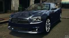 Dodge Charger SRT8 2012 v2.0 для GTA 4