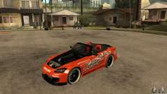 Honda S2000 CHARGESPEED для GTA San Andreas