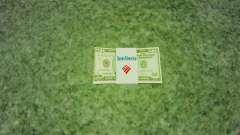 Денежные купюры США номиналом 50$