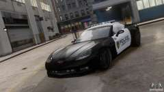 Chevrolet Corvette LCPD Pursuit Unit для GTA 4