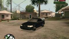 Ford Crown Victoria FBI для GTA San Andreas