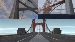Новые текстуры трёх мостов в SF