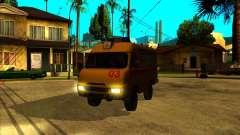 УАЗ 3962 Медицинский для GTA San Andreas
