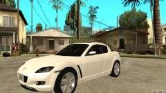 Mazda RX8 для GTA San Andreas