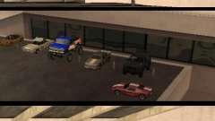 Cars shop in San-Fierro beta