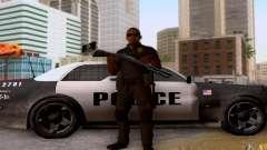 Полицейский из CoD: BO2