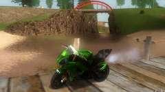 Kawasaki Zx 10-R II для GTA San Andreas