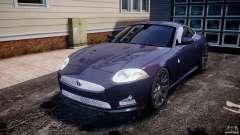 Jaguar XKR-S для GTA 4