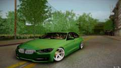 BMW 3 Series F30 Stanced 2012