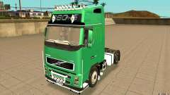 Volvo FH16 Globetrotter Officiel для GTA San Andreas
