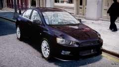 Mitsubishi Lancer X для GTA 4