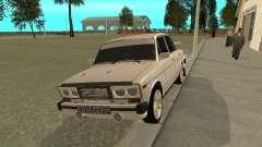ВАЗ 2106 West Style для GTA San Andreas